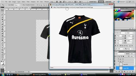 design jersey photoshop how to make a football shirt on adobe photoshop youtube