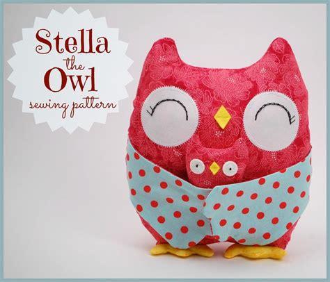 sewing pattern owl stella the owl by abby glassenberg sewing pattern