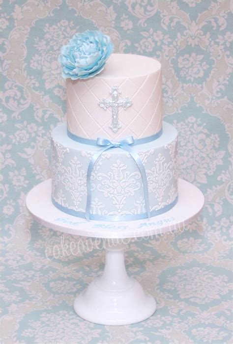 Christening Cakes by Boy Baptism Cake Ideas And Designs