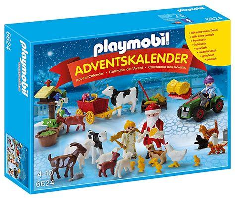 Calendrier De L Avent Playmobil Pere Noel Acheter Playmobil Calendrier Avent P 232 Re No 235 L Ferme 6624