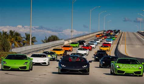 Lamborghini In Miami Bullfest Miami 2016 Lamborghini Gathering And Drive