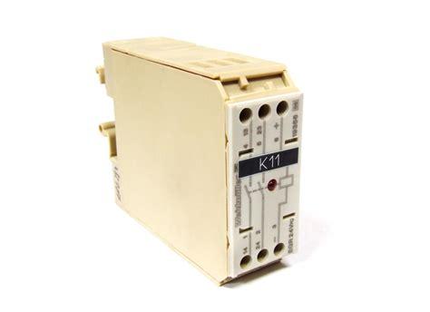 Relay Weidmuller weidm 252 ller switch relay coupler egr eg3 schaltrelais