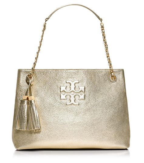 Bruno Athe Slouchy Tote by Burch Thea Metallic Chain Shoulder Slouchy Tote In