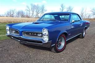 Pontiac Gto 1966 1966 Pontiac Gto 181283