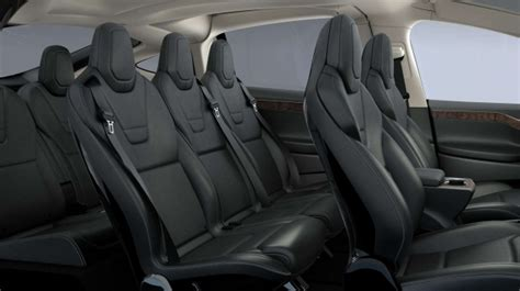 Tesla 7 Seater Tesla Model X Seats 7 Has A Bioweapon Defense Mode