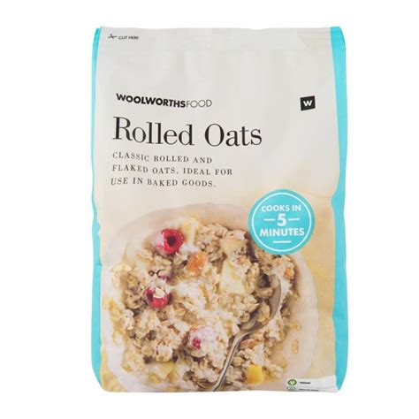 Rolled Oats 1 Kg By 4foglioshop rolled oats 1kg woolworths co za