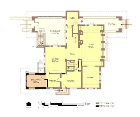 file hills decaro house first floor plan pre fire jpg