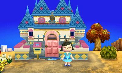 house themes acnl acnl me as the fairy tale princess with a castle by
