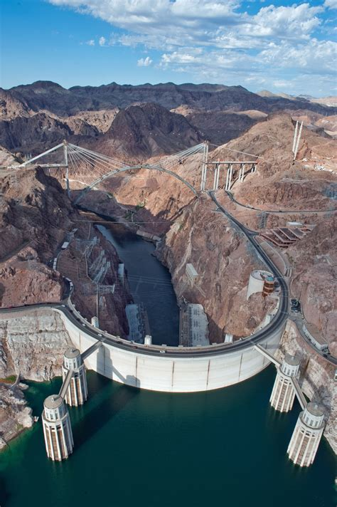 hoover dam hoover dam bridge photos from the sky construction