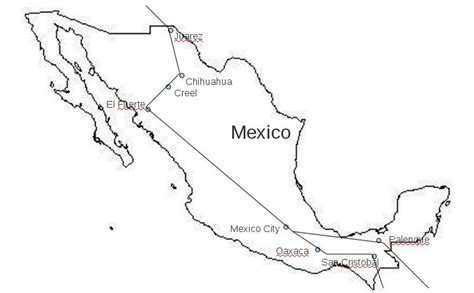coloring page mexico map 10mexca