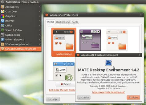 mate desktop themes download namaku tux linux desktop everyday install