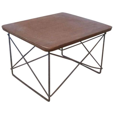 Eames Side Table Early Original Production Ltr Side Table By Charles And Eames For Sale At 1stdibs