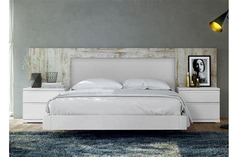 lit blanc 160x200 lit adulte design 160x200 blanc vintage baix 103 cbc meubles