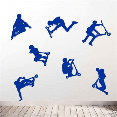 Aufkleber F R Stunt Scooter by Stunt Scooter New Diy Deco Decal Vinyl Stickers Decorative