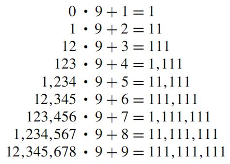 the pattern of numbers below is an arithmetic sequence amazing number patterns i