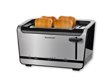 Toaster Information Silvercrest Kitchen Tools R 1 200 1 400w Double Long