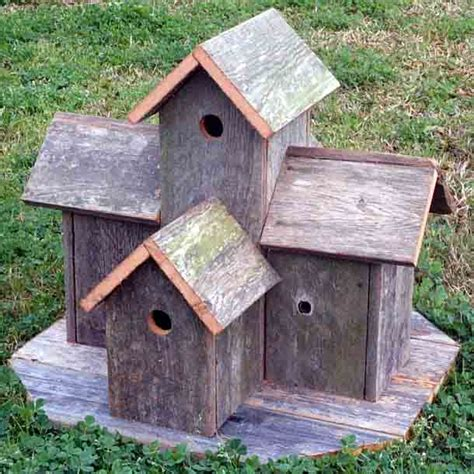 Decorative Bird Houses by Rojo Kayo Rustic Birdhouse Plans Free