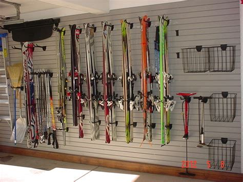 Garage Ski Storage Ideas Aspen Closets Contemporary Garage And Shed Other