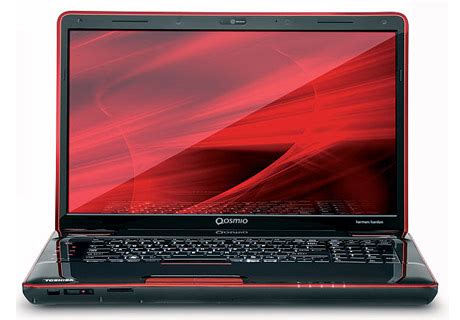 toshiba unfurls qosmio x505 laptop series techgadgets