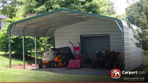 carport shop two car carport wide 18 x 26 shop metal