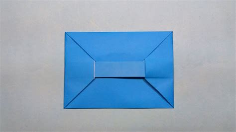 How To Make Your Own Origami Envelope From Paper - diy easy origami paper envelope tutorial make your own