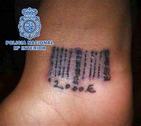 barcode tattoo cost prostitutas de clanes rumanos tatuadas con c 243 digos de