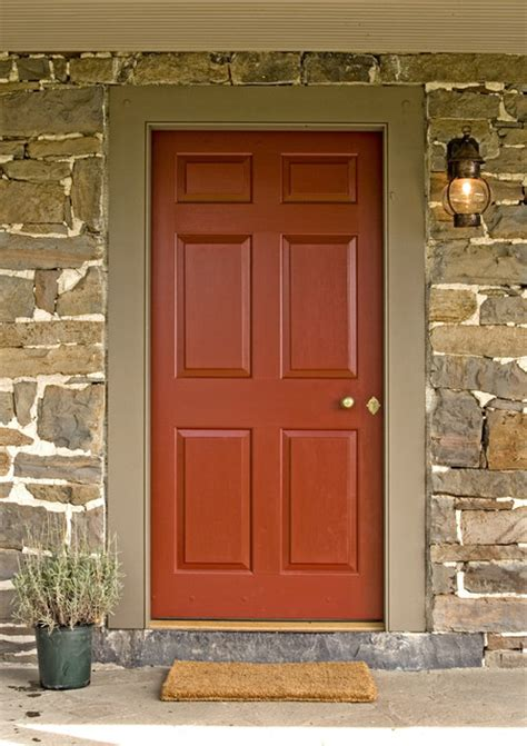 Houzz Exterior Doors Exterior Paneled Door Traditional Front Doors Philadelphia By Fredendall Building Company