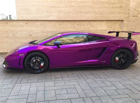 lamborghini purple chrome mumbai india s only lamborghini gallardo sts gets wrapped