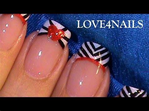 imagenes de uñas pintadas a mano faciles como pintar un corazon u 241 as decoradas faciles y rapidas