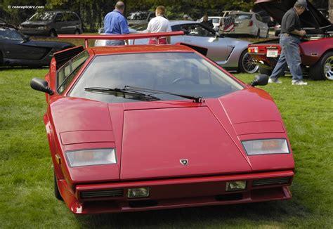 Lamborghini Si Lamborghini Countach 5000 Quattrovalvole Specs 1988
