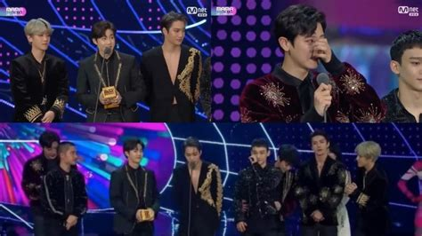 exo mama 2017 exo wins album of the year for record breaking 5th year in