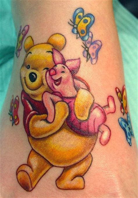 piglet tattoo designs winnie the pooh tattoos