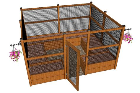 Racoon Deck by My New Critter Proof Raised Garden Beds Doityourself
