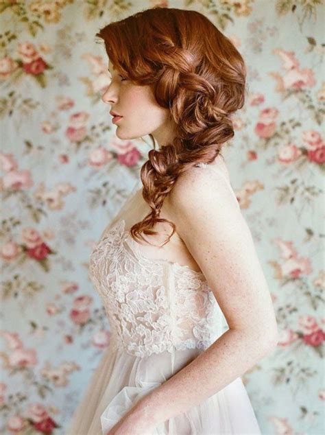 Wedding Hairstyles Side Braid by Wedding Hair Inspiration 32 Fresh Feminine Bridal