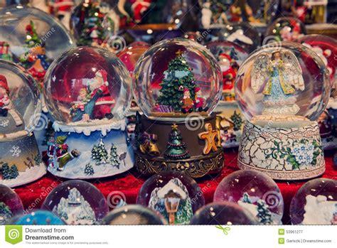 christmas snow globes editorial photography image 53961277