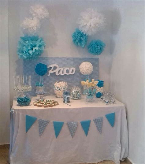 decoracion con collage para bautizo las 25 mejores ideas sobre mesas dulces comunion en