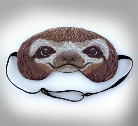 sloth sleeping mask