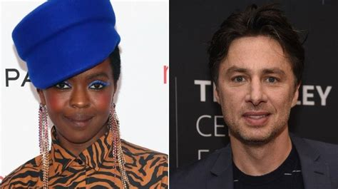 lauryn hill zach braff celebs you didn t know went to high school together