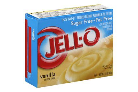 Instan Vanila 1 jell o pudding instant vanilla sugar free free 1 5 oz box kraft recipes