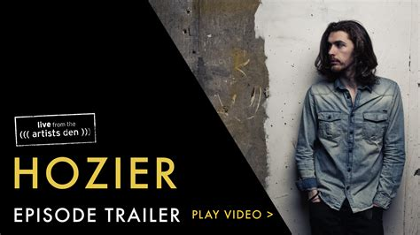 hozier us store hozier live from the artists den