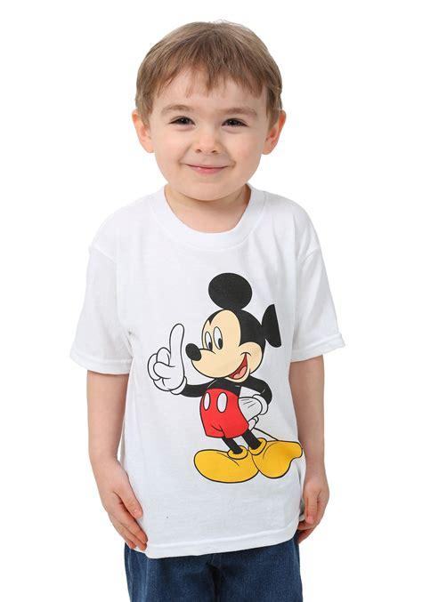 Toddler Boy Shirt - toddler mickey mouse standing 1 boys t shirt