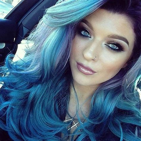 hair colors for blue blue hair color ideas for 2015