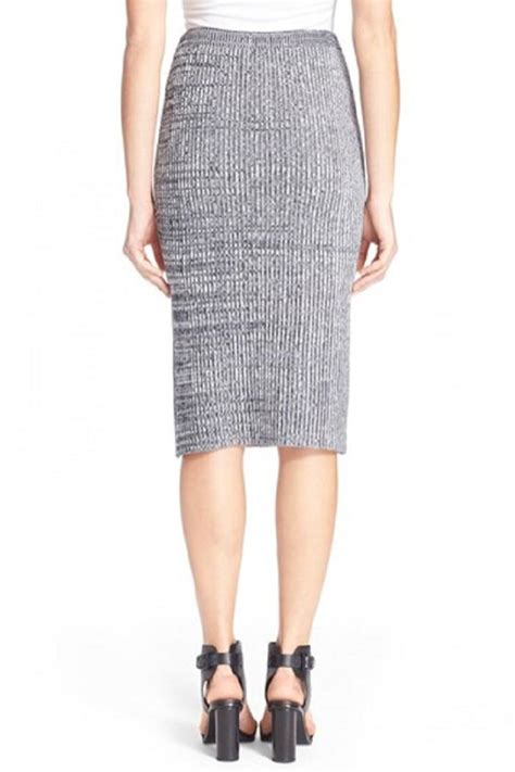 knit skirts theory nellida knit skirt from canada by black caviar