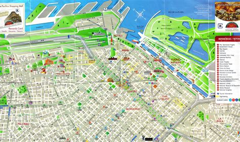 buenos aires map maps update 23691452 tourist map of buenos aires buenos aires map detailed city and metro