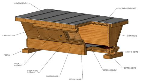 top bar hive plans pdf temperate climate permaculture introduction to beekeeping