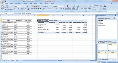 how to a pivot table solutions to pivot table questions