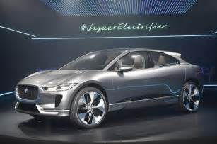 When Did Jaguar Start 2018 Jaguar I Pace Electric Suv Revealed Plus Exclusive