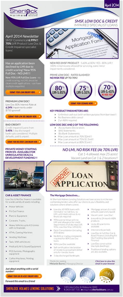 Loan Newsletter 7 newsletter designs loan newsletter design project for