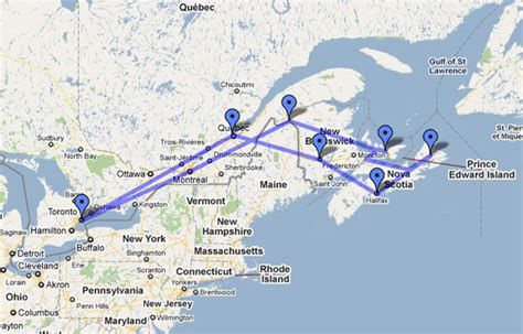map of us east coast and canada map canada east coast images frompo