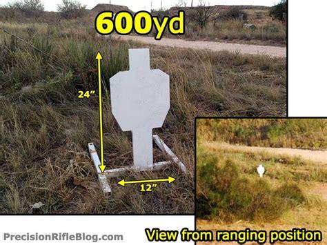 500 Yard Target Size by Vectronix Terrapin Review Precisionrifleblog